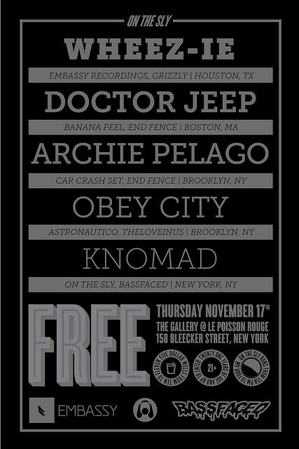 11.17-Wheezie/DrJeep/ObeyCity/ArchiePelago/knomad/FREE