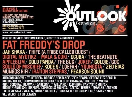 Outlook Festival – Fort Punta Christo, Pula, Croatia August 30 – September 2