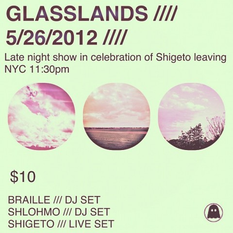 SAT: SHIGETO, Shlohmo, Braille [11:30/$10]