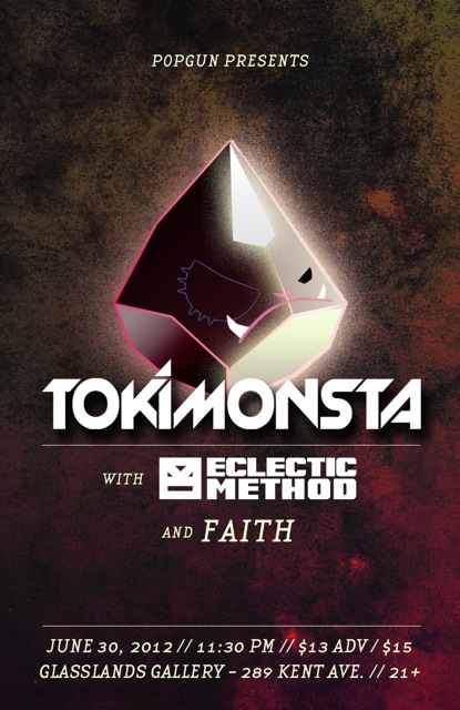 SAT: TOKiMONSTA, Astrolith, DJ Faith [$13/12PM]