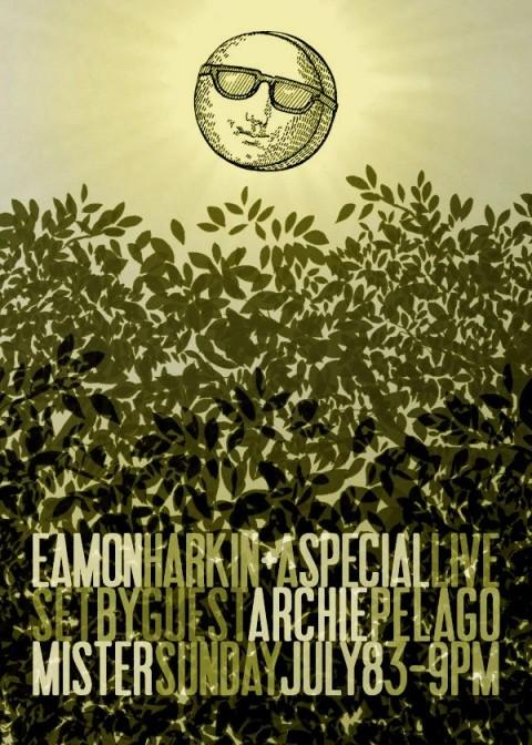 Sunday, 8 July 2012 Eamon Harkin Archie Pelago Gowanus Grove