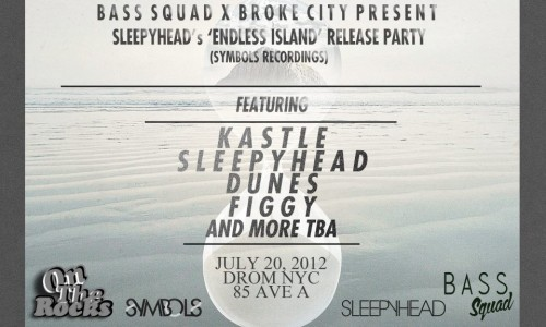 Sleepyhead Endless Island EP release party july 20th
