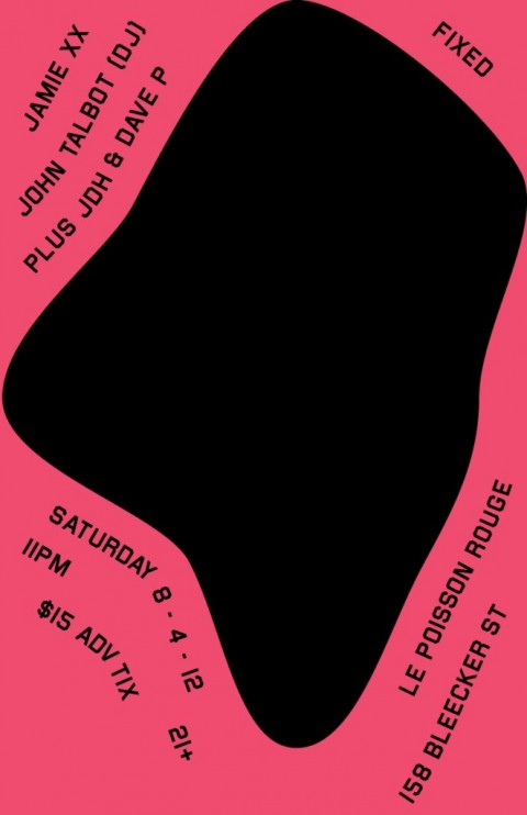 John Talabot (DJ Set) and Jamie xx w/ JDH & Dave P @ Le Poisson Rouge August 04, 2012 11:00 pm