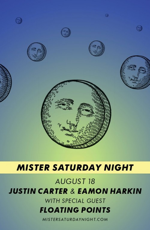 SAT: Mister Saturday Night ft. Floating Points [10PM/$15]