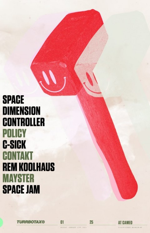 turrbotax cameo gallery space dimension controller policy c-sick contrakt rem koolhaus mayster space jam