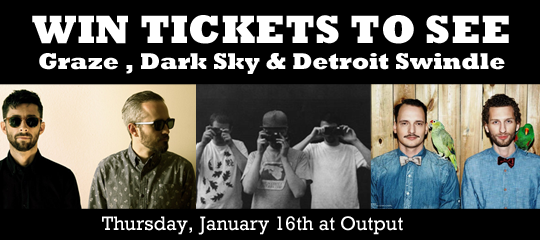 Win 2 Tickets to INPUT Thursday with Dark Sky, Graze, Detroit Swindle and Heathered Pearls
