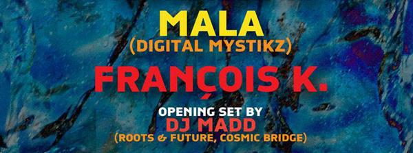 deep space x dub champions: mala (dmz / deep medi) dj madd, francois k at cielo nyc september 21 2015