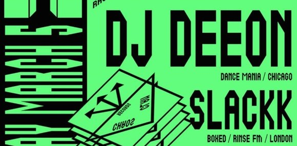 ∞ CHAOS CLAN ∞ presents DJ DEEON (Dance Mania/US) Chicago's ghetto house godfather. SLACKK (Boxed/Rinse/UK) Grime time. + STAR EYES (Chaos Clan/NYC) SHA SHA KIMBO (Cybersonic/LA) saturday march 5th 2016 trans pecos